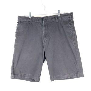 Lee Dungarees brand dark gray shorts